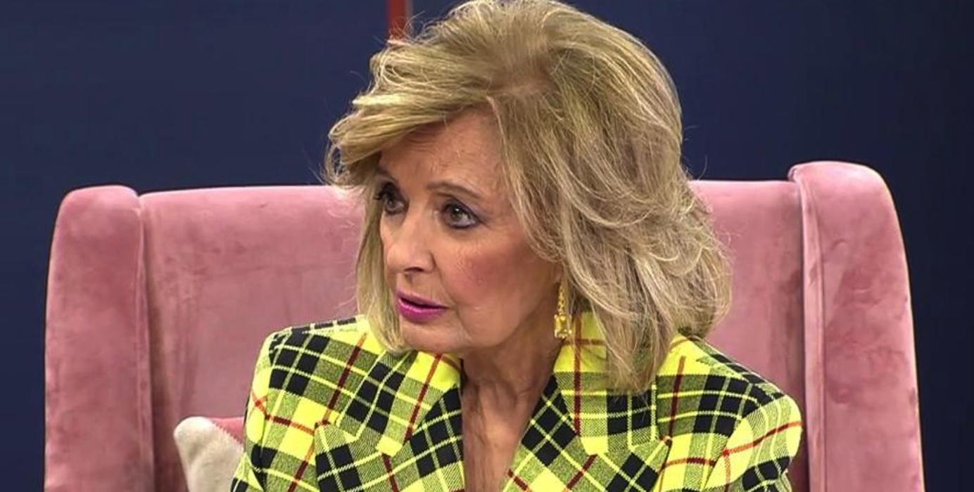 María Teresa Campos, molt enfadada en l'entrevista a 'Viva la vida' / Telecinco