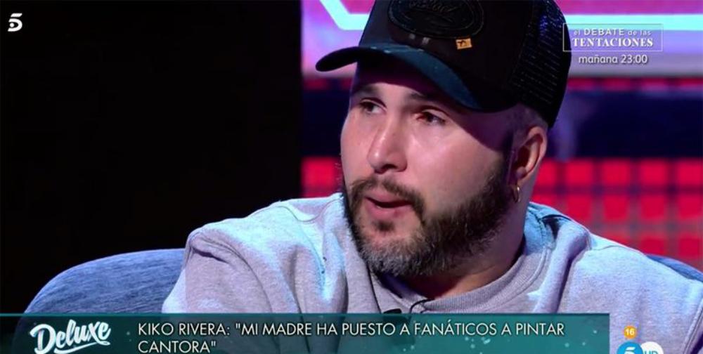 Kiko Rivera esclata al 'Deluxe' / Telecinco