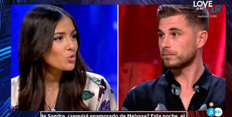 Melyssa i Tom de 'La isla de las tentaciones' es retroben / Telecinco
