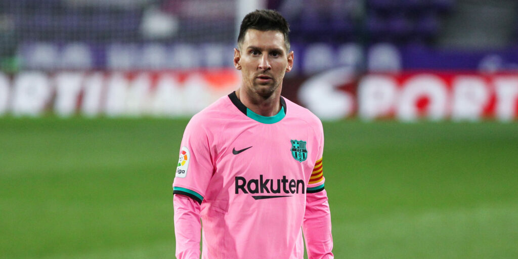 Lionel Messi of FC Barcelona during La Liga football match played between Real Valladolid and FC Barcelona at Jose Zorrilla stadium on December 22, 2020 in Valladolid, Spain. AFP7  / Europa Press   (Foto de ARCHIVO) 22/12/2020 ONLY FOR USE IN SPAIN
