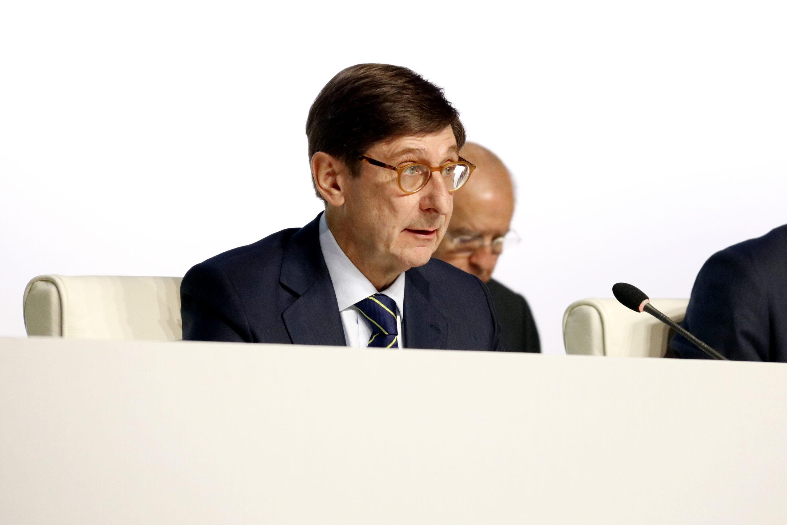 José Ignacio Goirigolzarri intervenint en una junta general d'accionistes   ACN