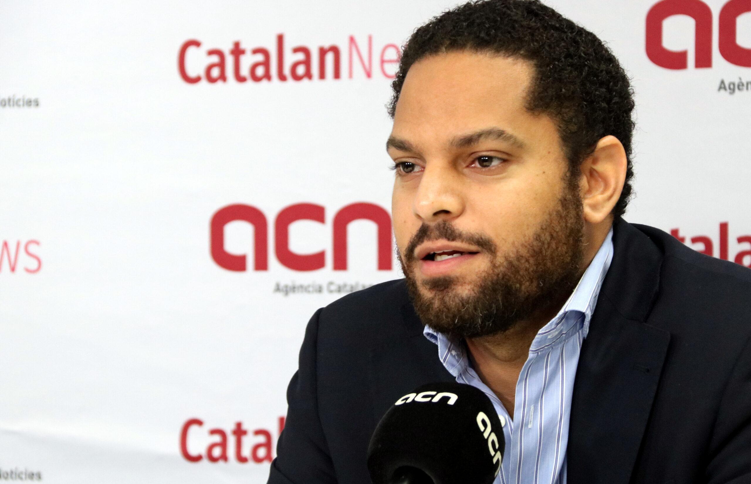 Ignacio Garriga, presidenciable de Vox a les eleccions al Parlament   ACN