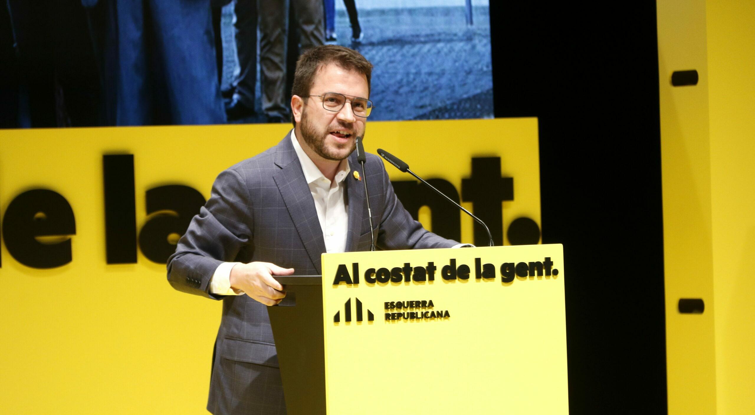 El cap de llista d'ERC per Barcelona a les eleccions al Parlament, Pere Aragonès | ACN