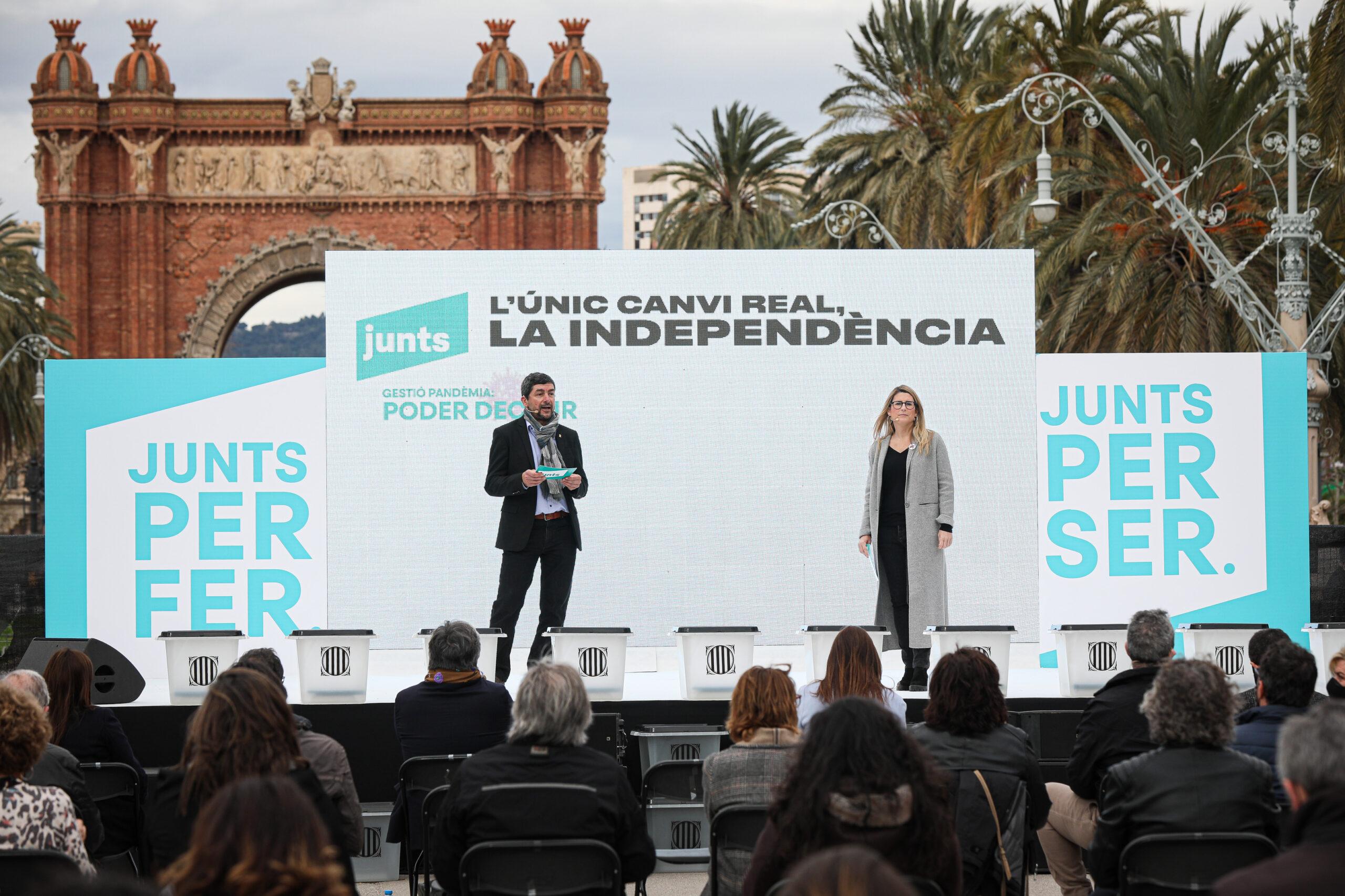 Joan Canadell i Elsa Artadi / Jordi Borràs