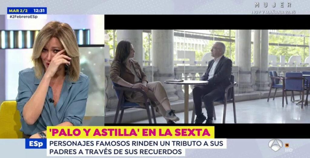Susanna Griso plora en directe a 'Espejo Público' / Antena 3