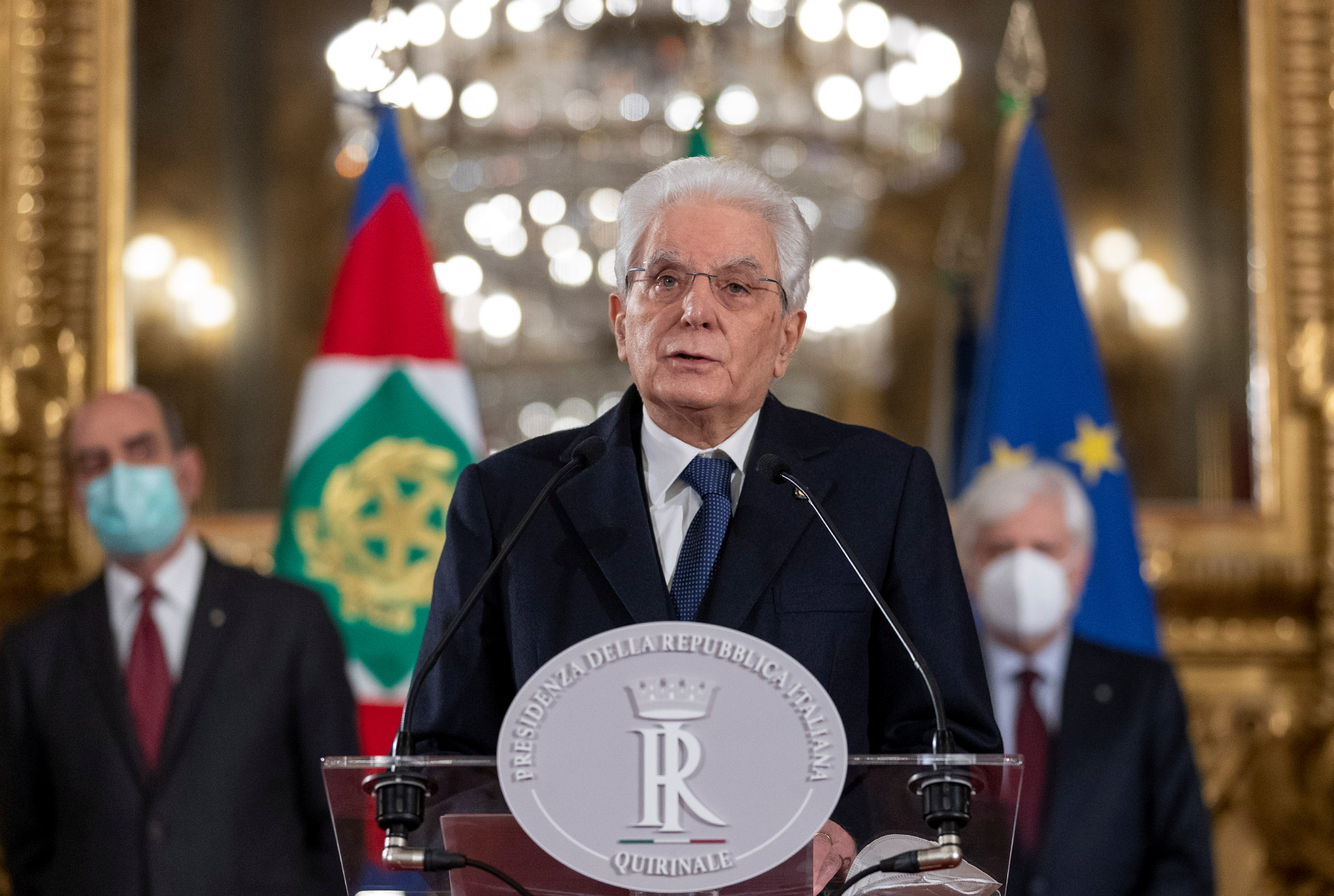 El president d'Itàlia, Sergio Mattarella / Reuters / ACN