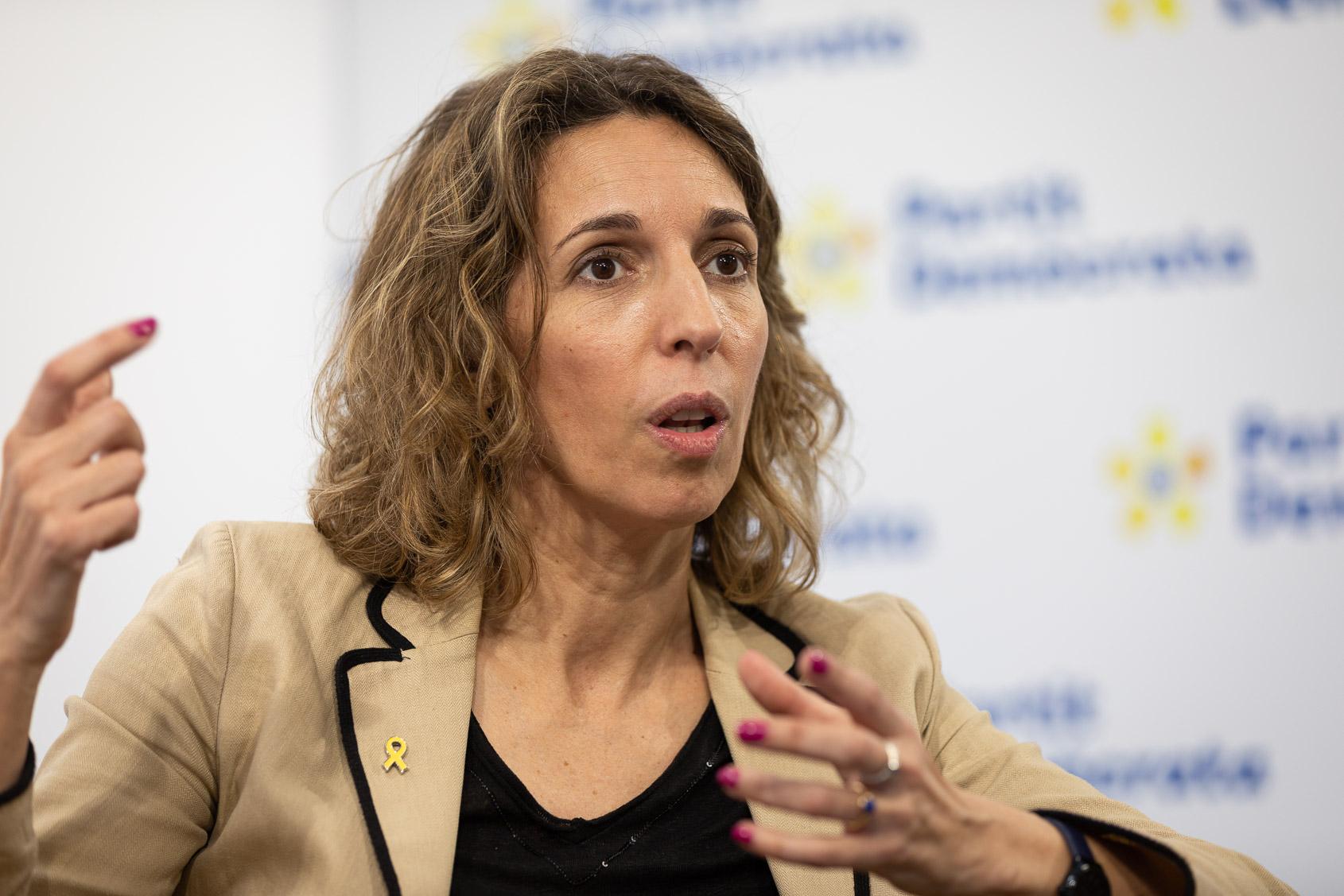 Àngels Chacón, candidata del PDeCAT pel 14-F / Jordi Borràs
