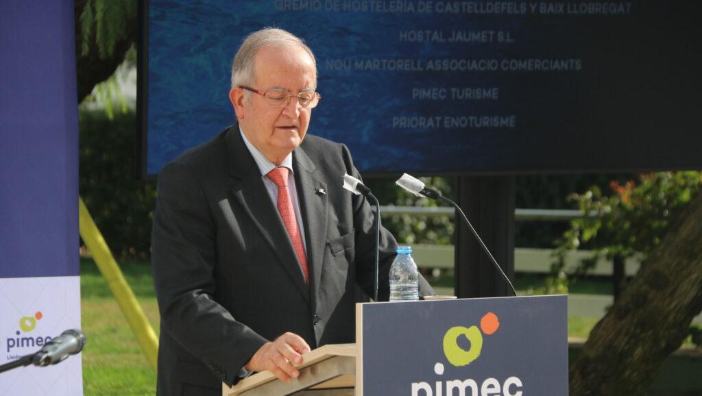 El president de Pimec, Josep González | ACN