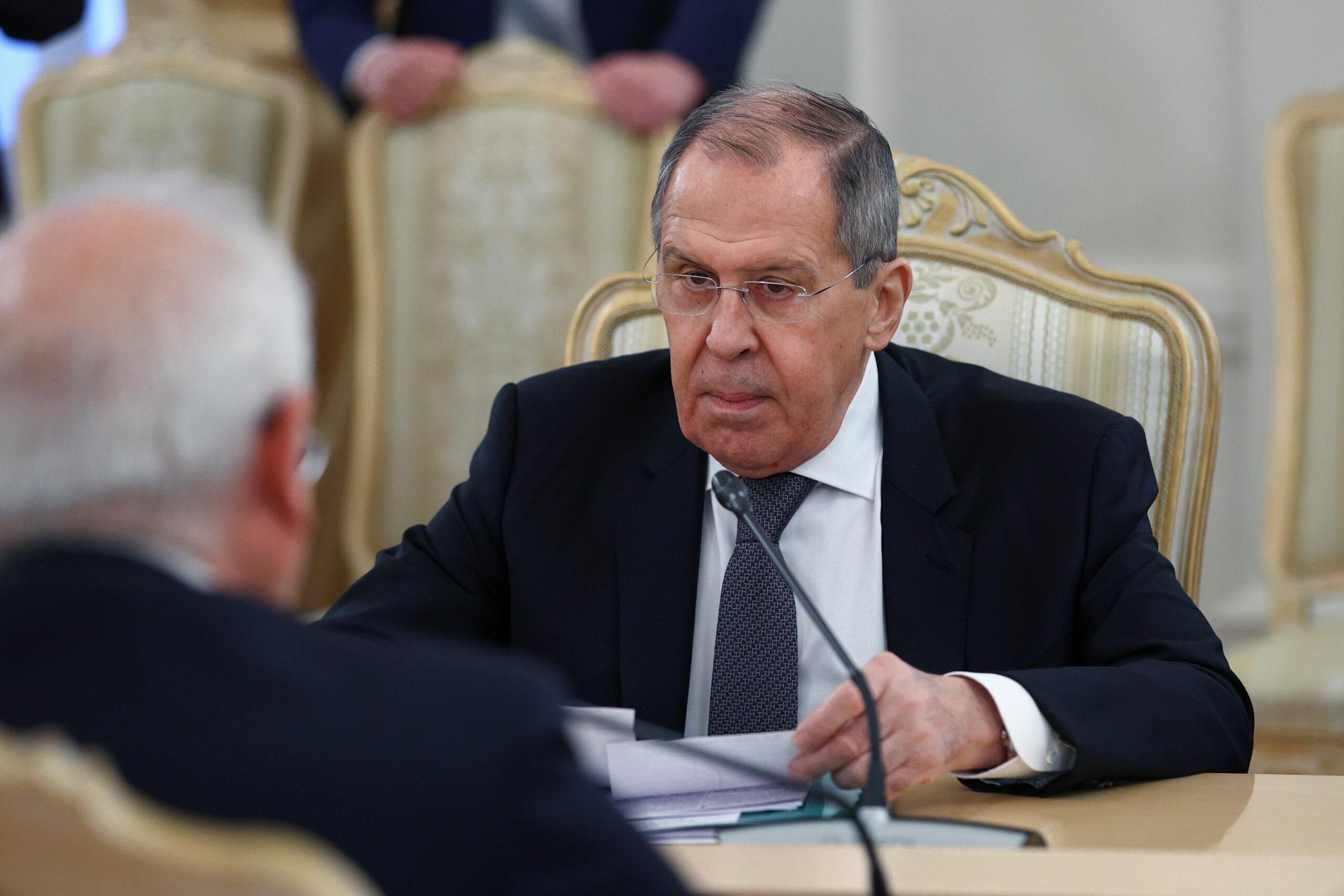 El ministre d'Afers Exteriors de Rússia, Sergei Lavrov | ACN