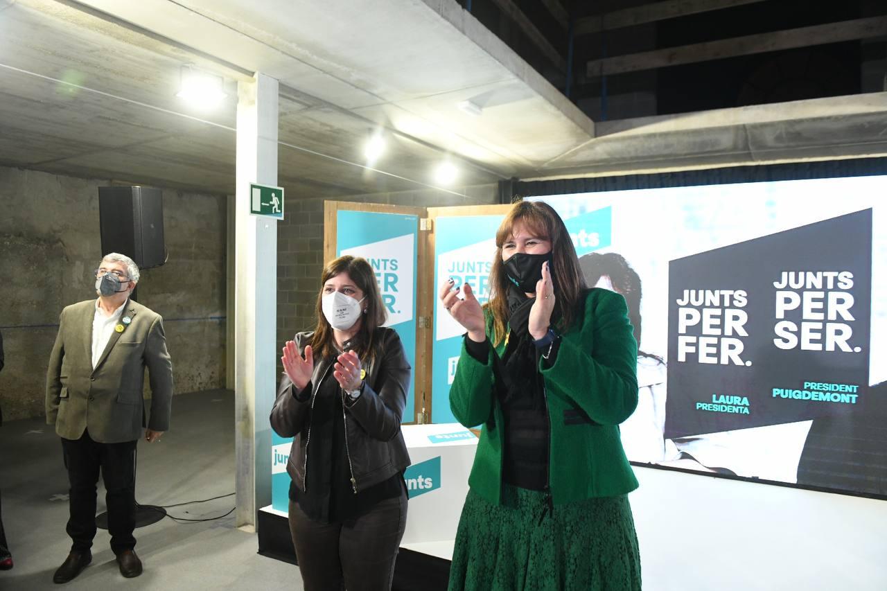 Laura Borràs a Figueres / JxCAT