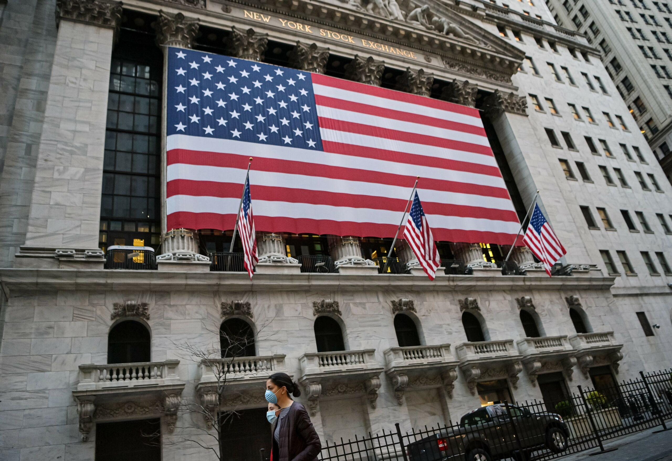 Façana de la seu de la borsa de Nova York, a Wall Street / Joel Marklund/Bildbyran via ZUMA Press/dpa / Europa Press