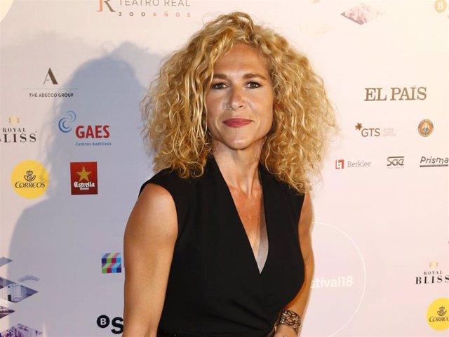 La periodista Cristina Fernández   Europa Press