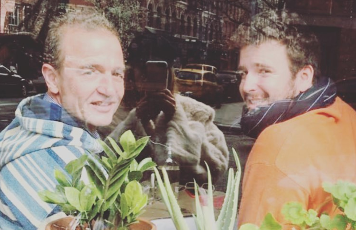 Alessandro Lequio i Aless Lequio a Nova York | Instagram @alessandrolequiosr