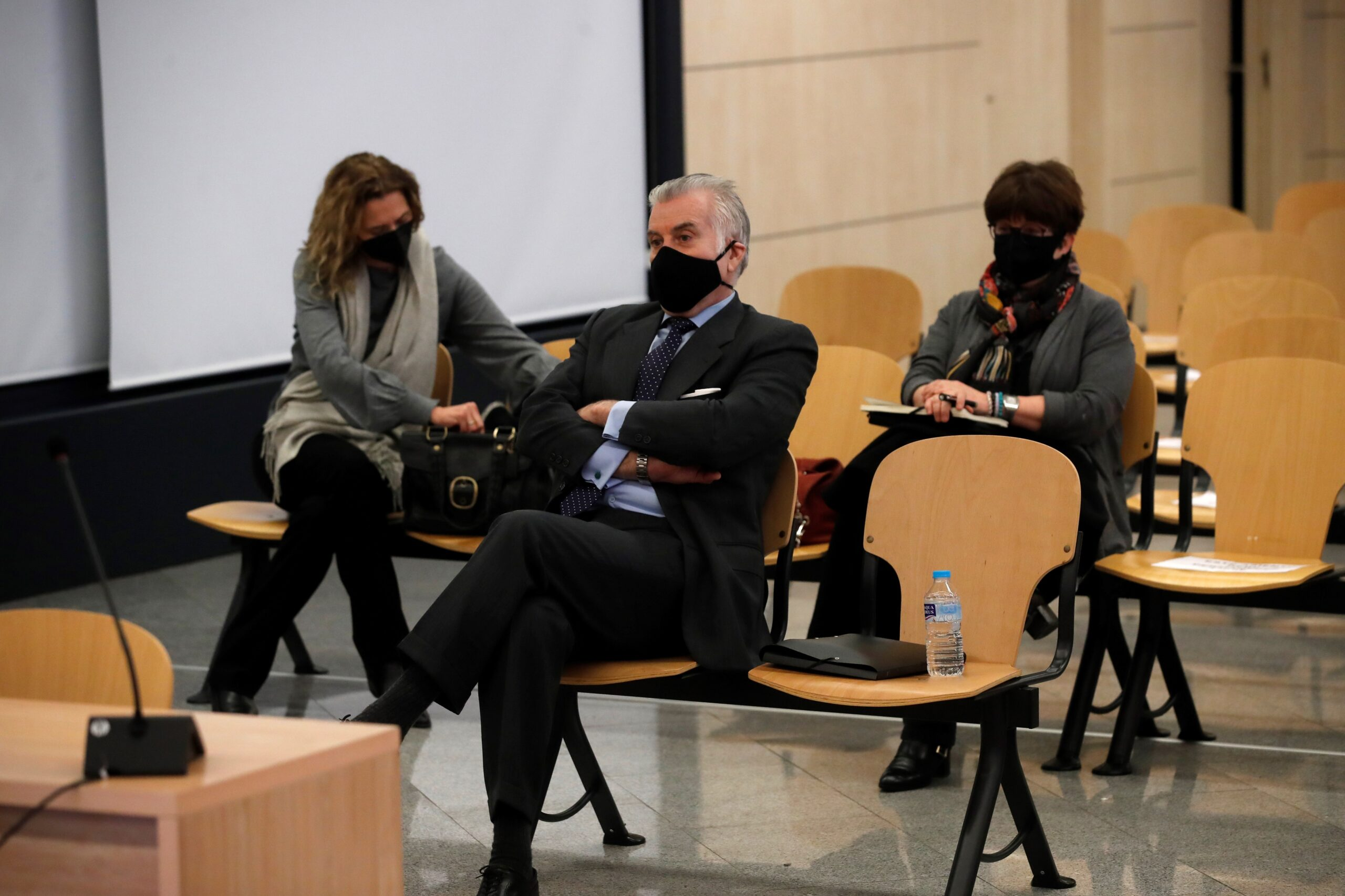 L'extresorer del PP., Luis Bárcenas, a l'Audiència Nacional/Pool EFEEP