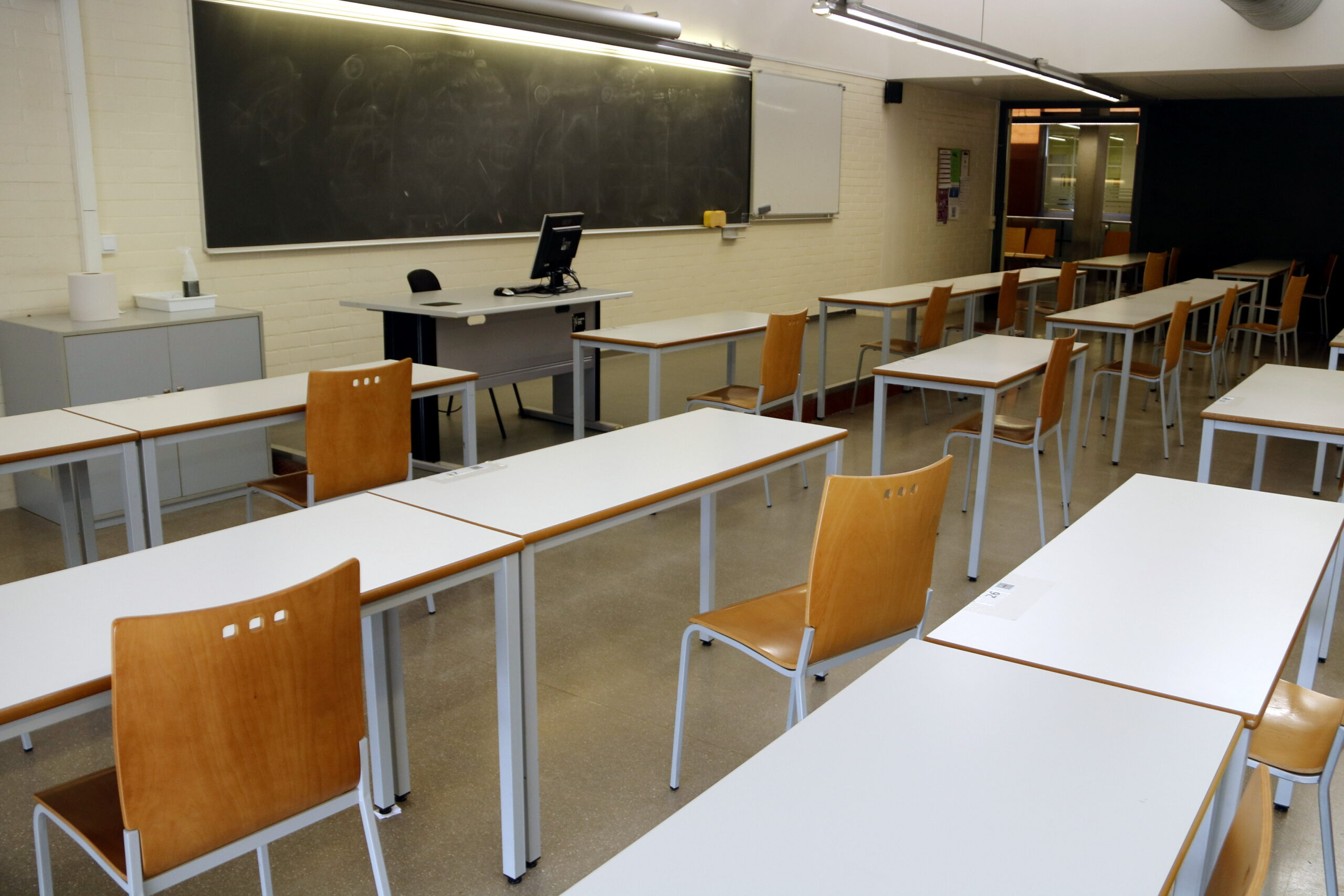 Imatge d'una aula buida (ACN)
