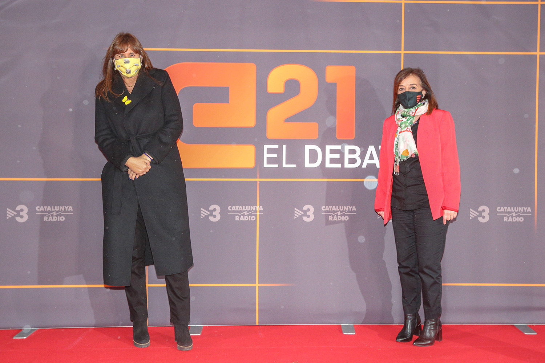 La candidata de JxC a la presidència de la Generalitat, Laura Borràs | ACN