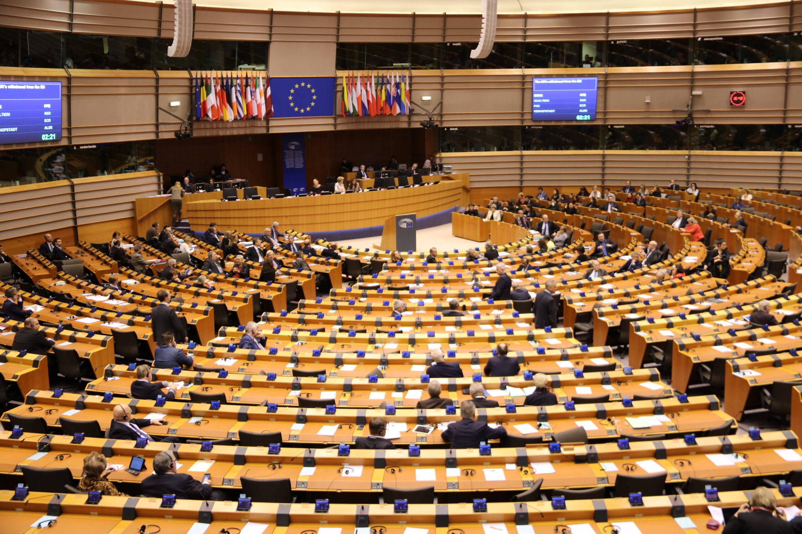 Ple de l'Eurocambra durant el debat sobre el Brexit, en una imatge d'arxiu | ACN