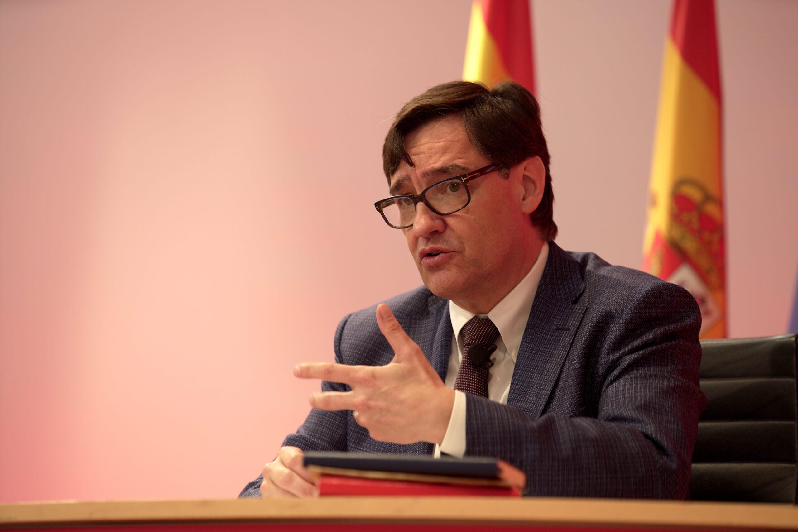 Salvador Illa, candidat del PSC a la presidència de la Generalitat / Cedida