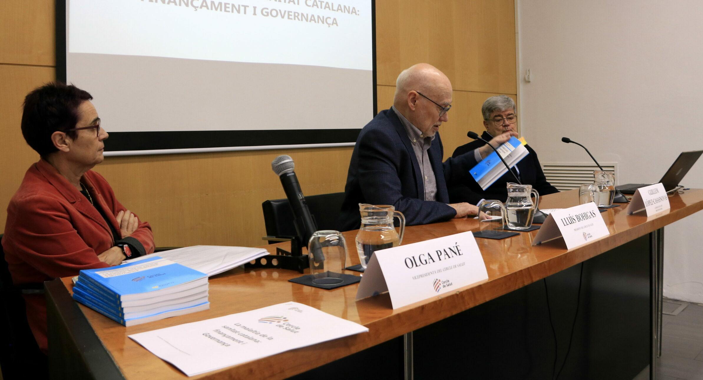 Olga Pané, en un acte el gener del 2020 / ACN