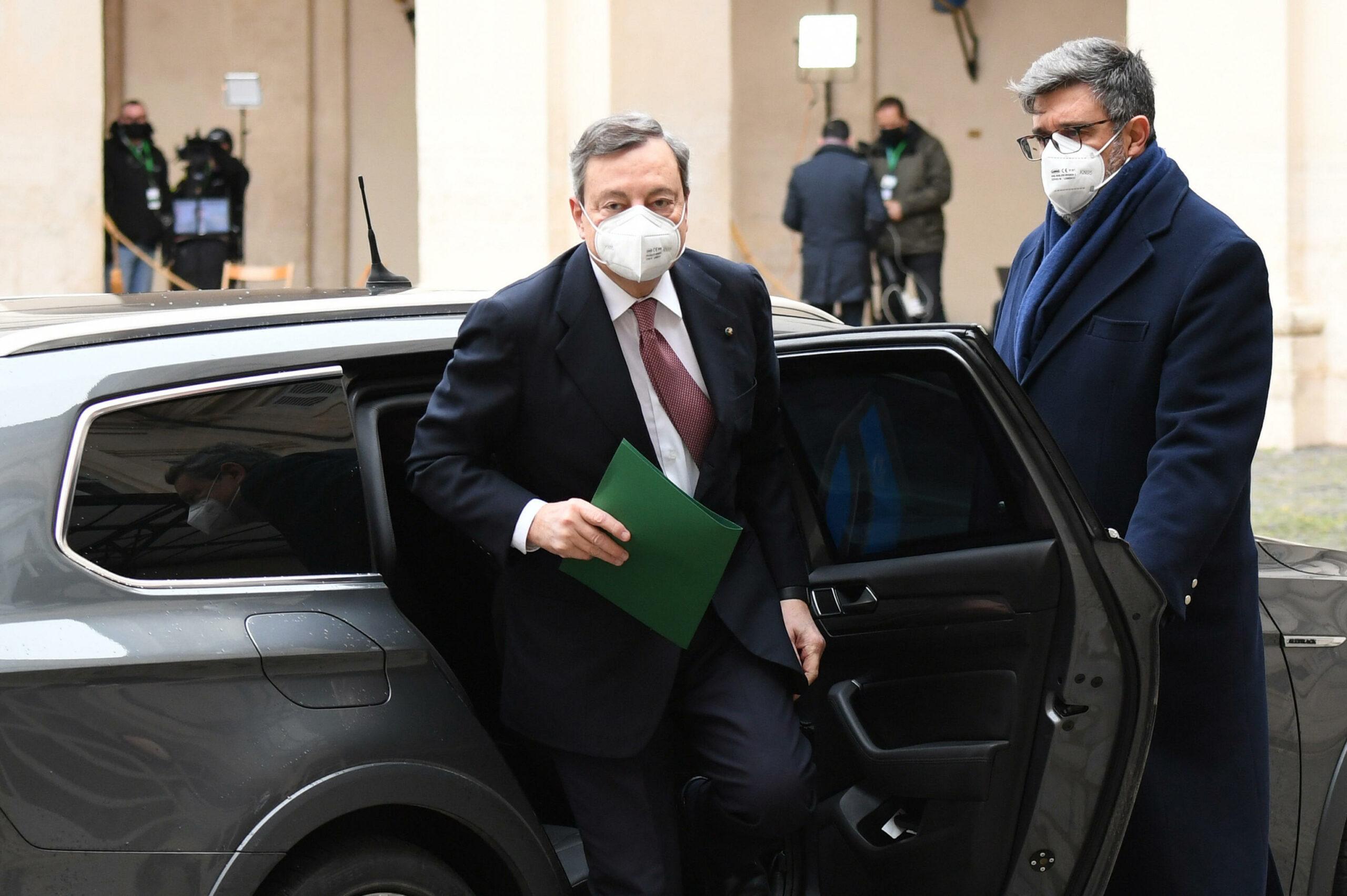 Mario Draghi / EP