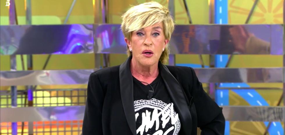Chelo García Cortés, indignada en directe - Telecinco