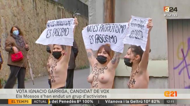 Femen contra Vox