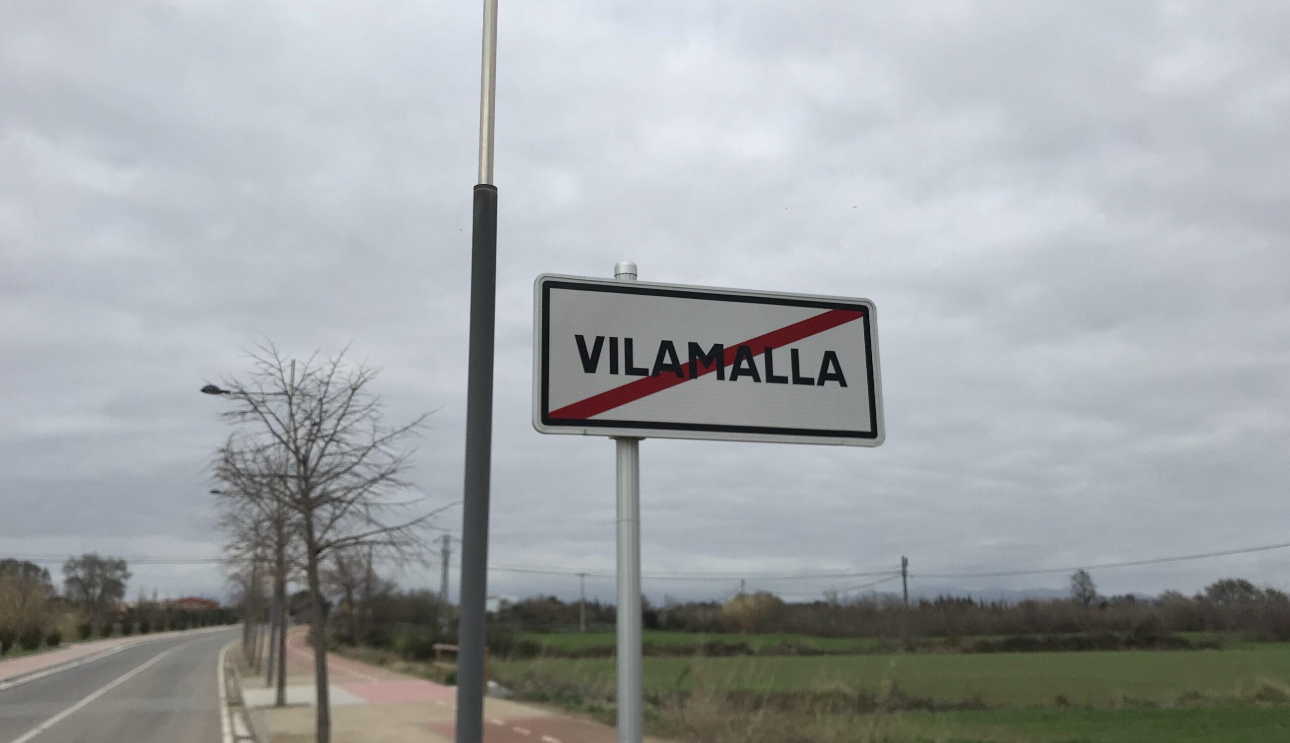 Una de les entrades de Vilamalla/Quico Sallés