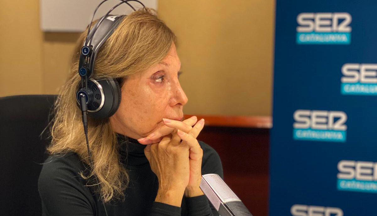 Pilar Eyre es justifica a la Cadena SER