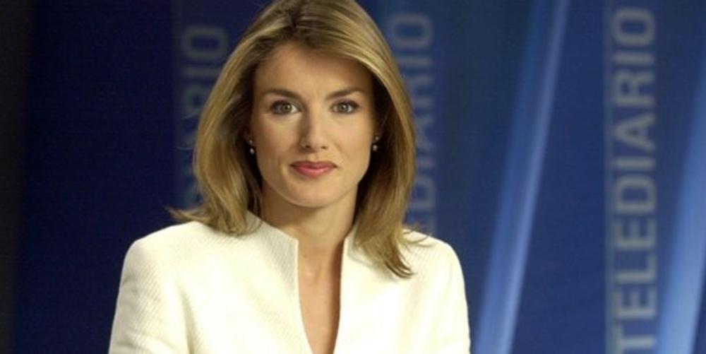 Letícia, en els informatius de TVE