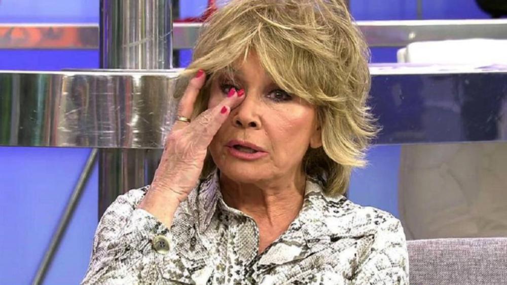 Mila Ximénez, en una de les últimes aparicions a 'Sálvame' - Telecinco