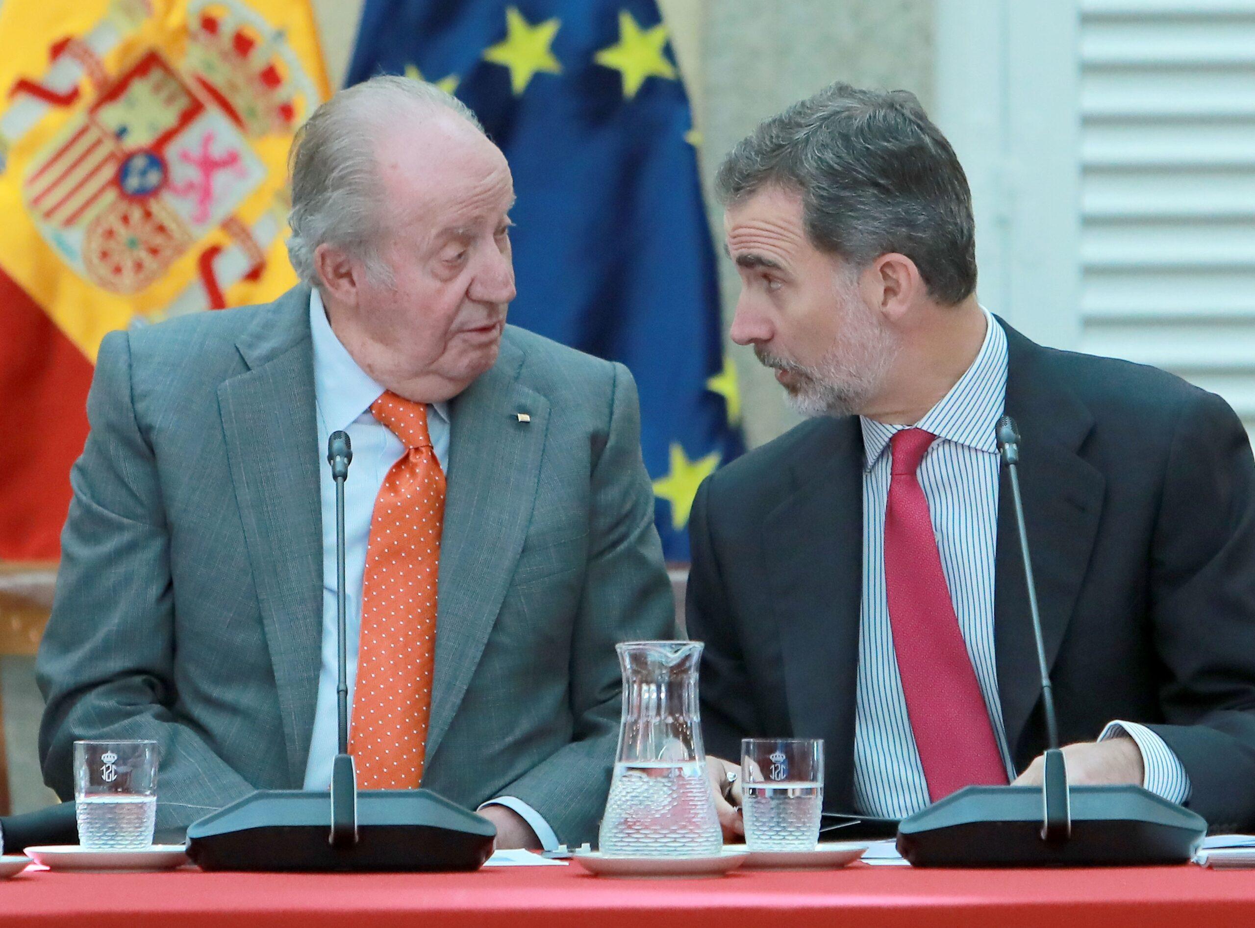 Joan Carles I i Felip VI en una imatge d'arxiu | Europa Press