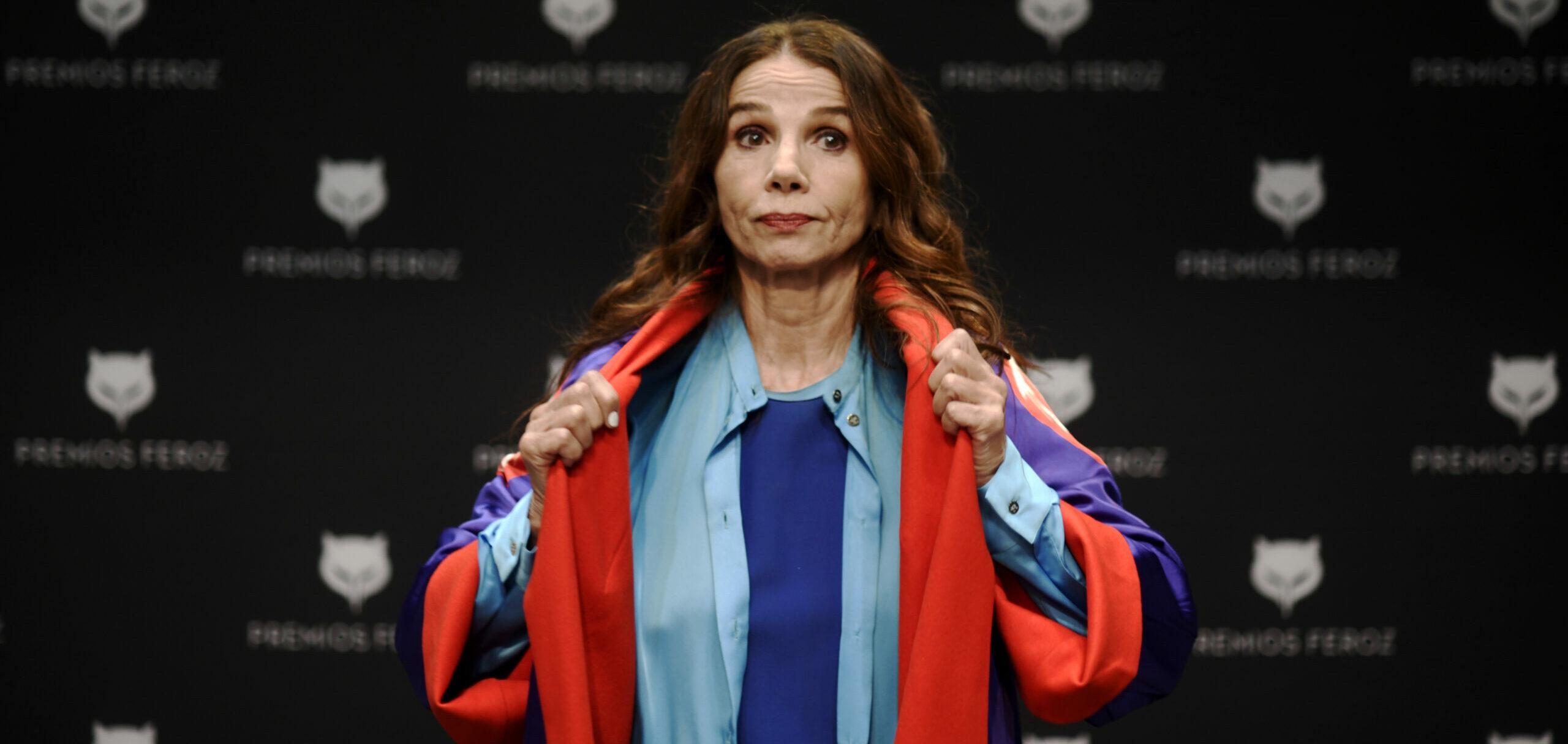 Victoria Abril, a la presentació dels premis Feroz - Europa Press