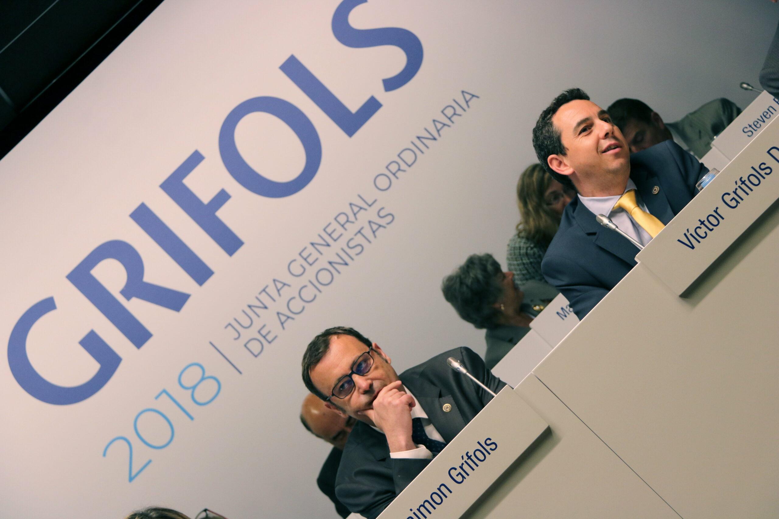 Els dos consellers delegats de Grifols, Raimon Grífols i Víctor Grífols Déu | ACN