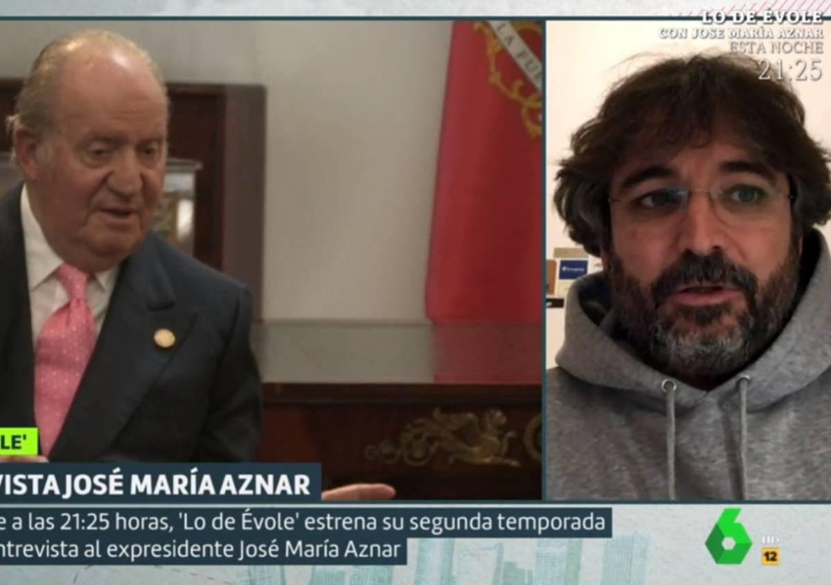 Jordi Évole parla sobre l'emèrit a 'Liarla Pardo' - La Sexta
