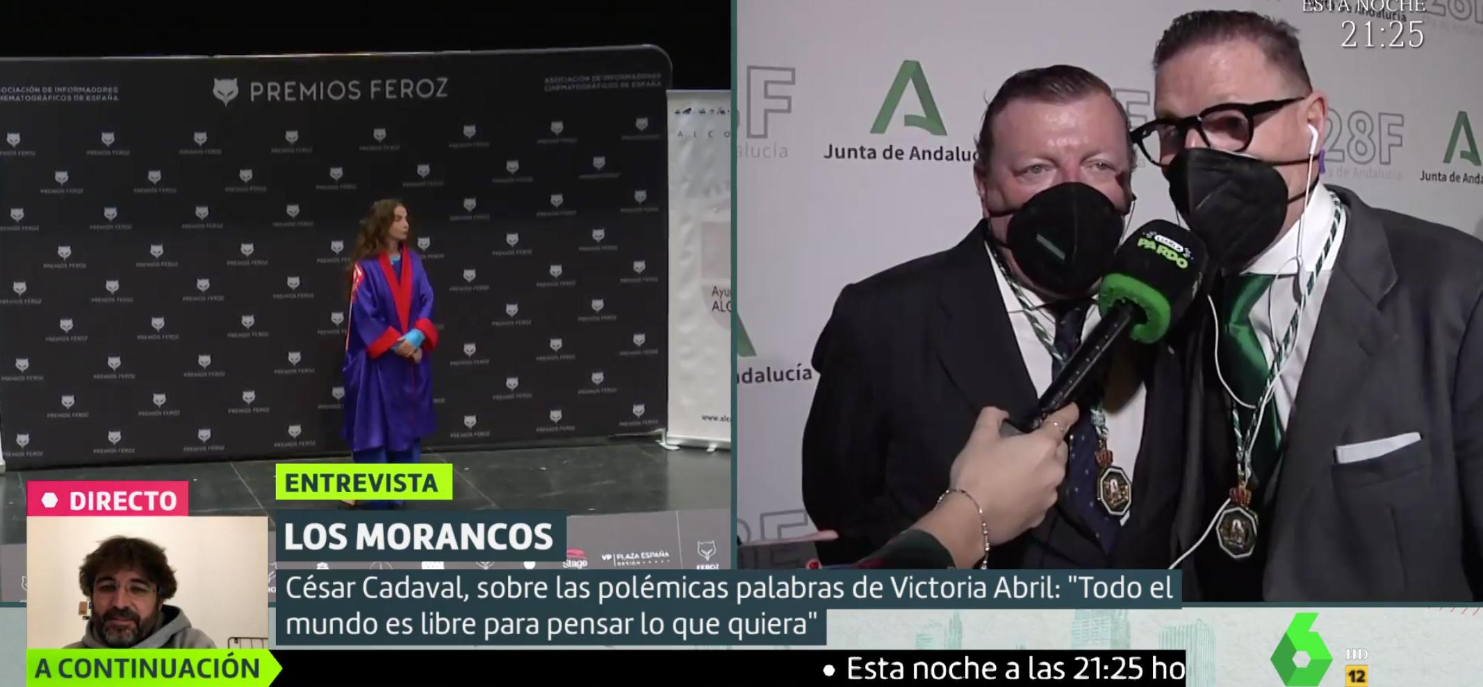 Los Morancos opinen sobre el negacionisme de Victoria Abril - La Sexta