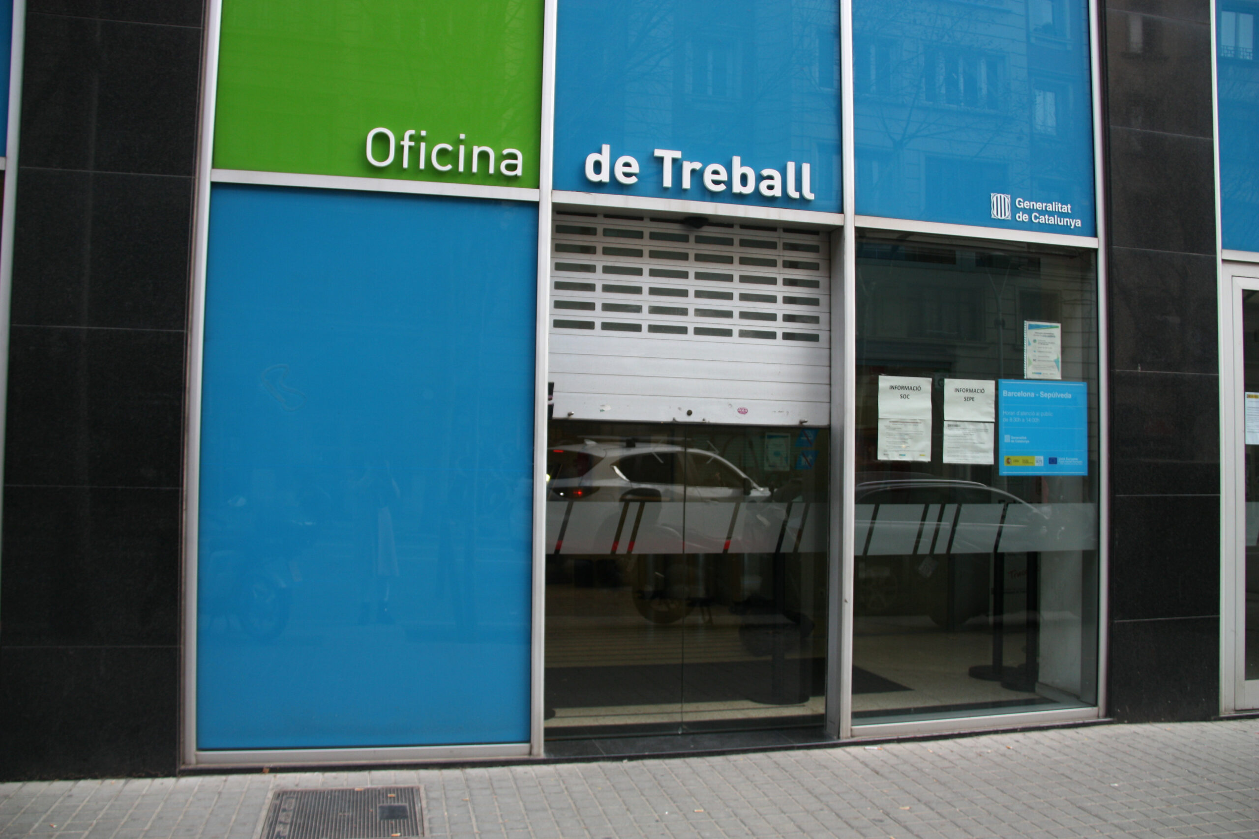 Unes Oficines del Servei d'Ocupació de Catalunya | ACN