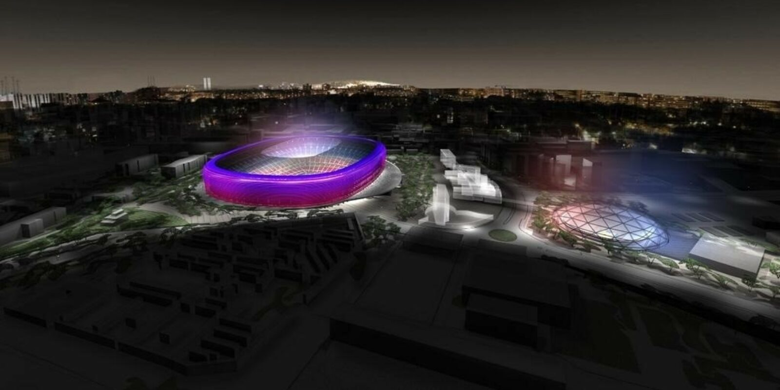 Una simulació d'un dels projectes d'Espai Barça | Europa Press