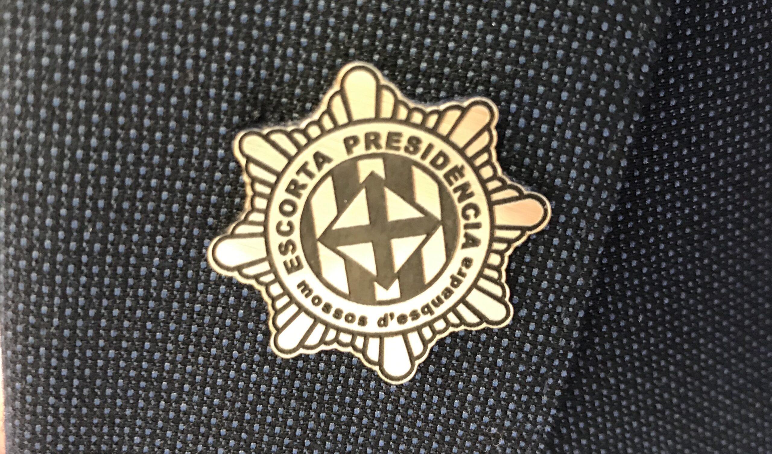 La insígnia dels escortes presidencials/Quico Sallés