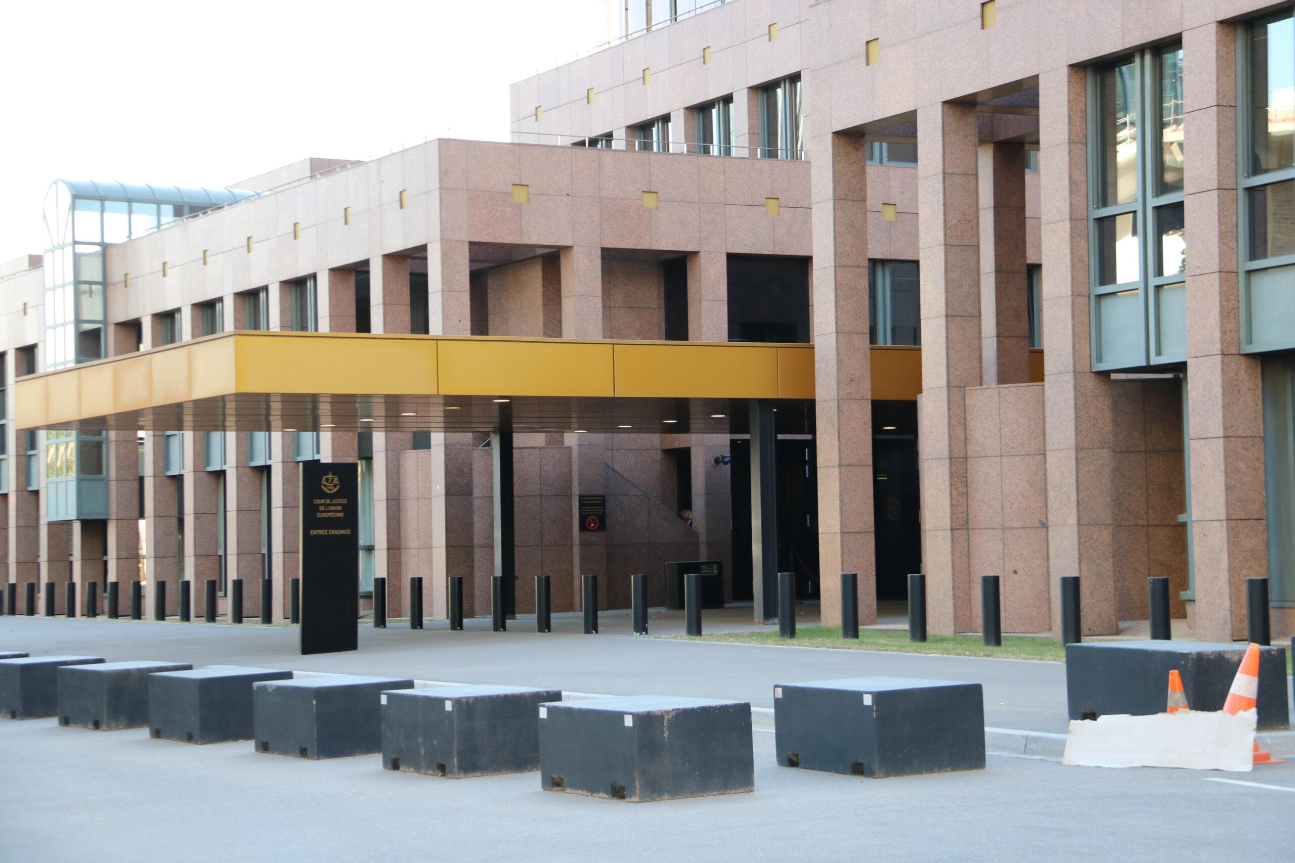El Tribunal de Justícia de la UE (TJUE) a Luxemburg (ACN)