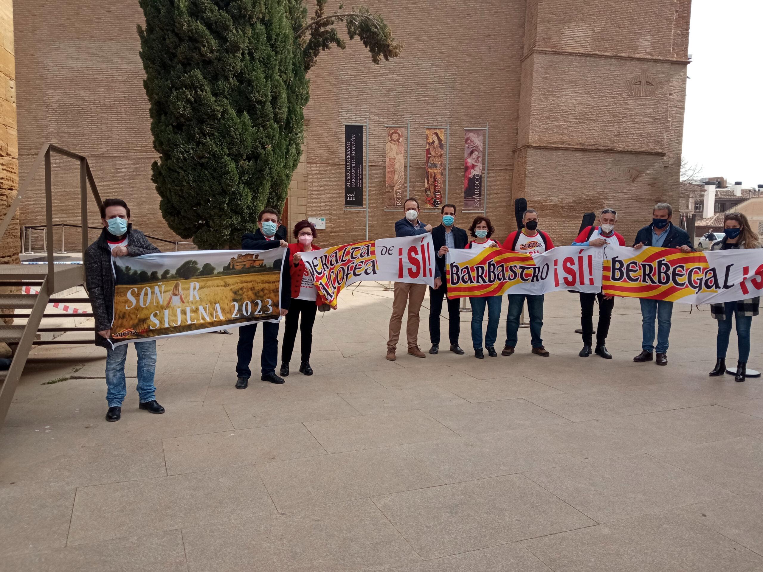 Els membres de la Plataforma 'Sijena Sí' / ACN