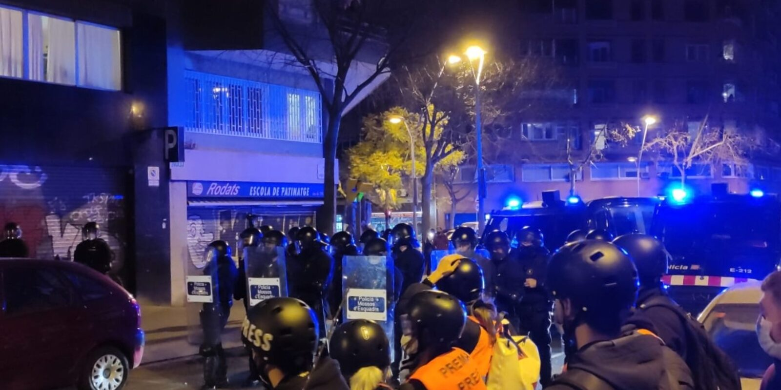 Uns 500 manifestants avui a Barcelona / EP