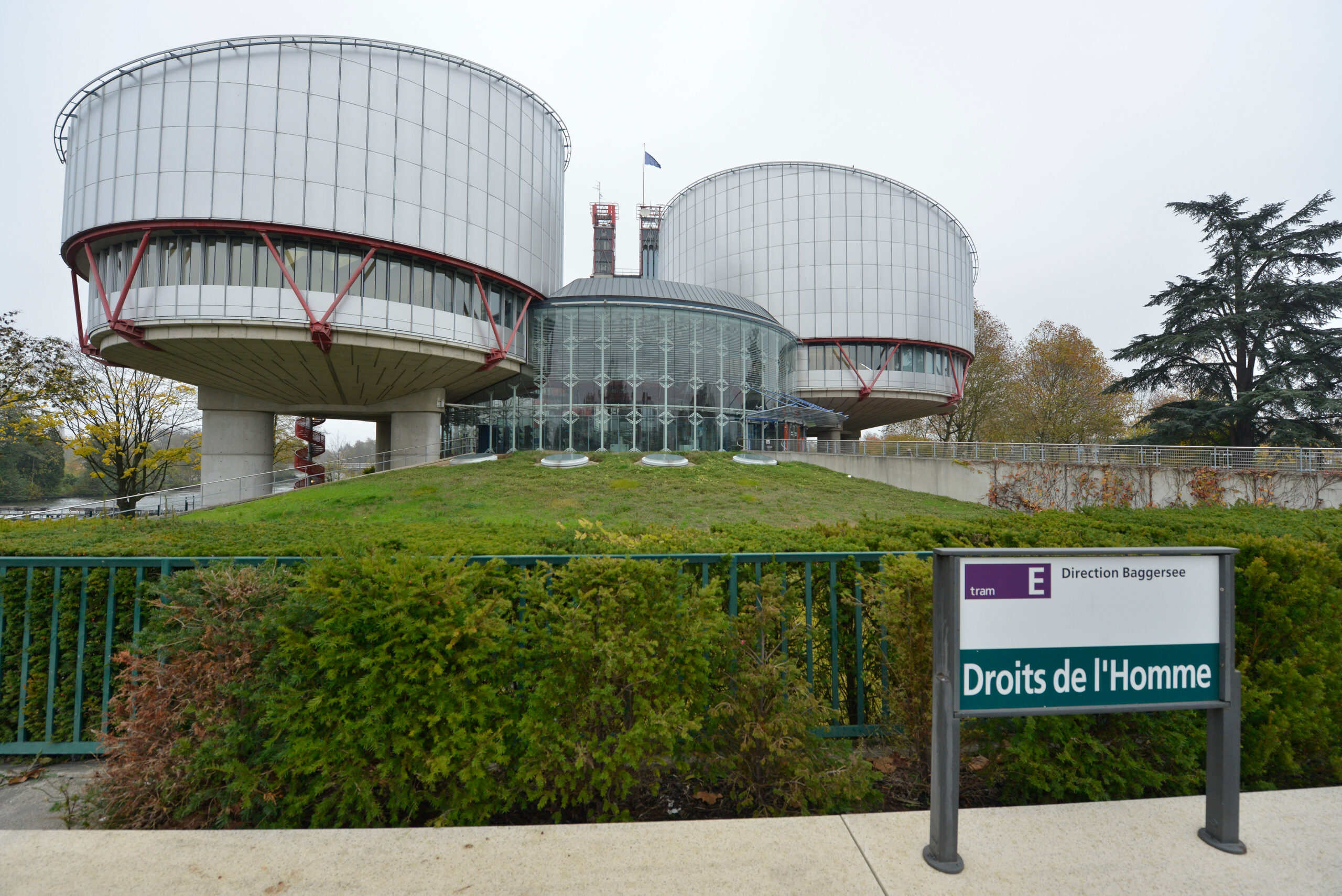 Imatge d'arxiu del Tribunal Europeu de Drets Humans (TEDH) a Estrasburg | ACN