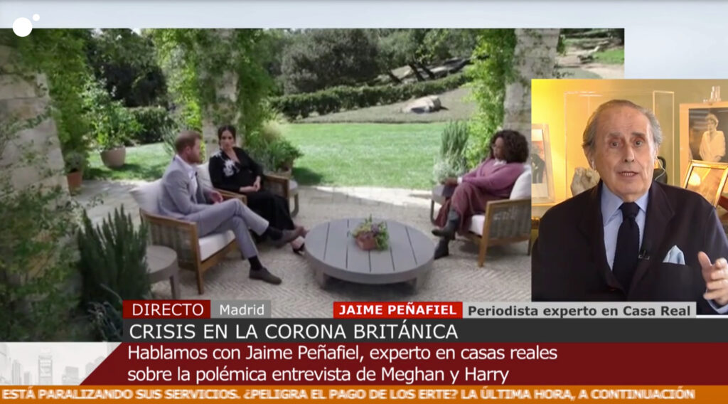 Jaime Peñafiel opina sobre l'entrevista de Meghan i Harry - Cuatro