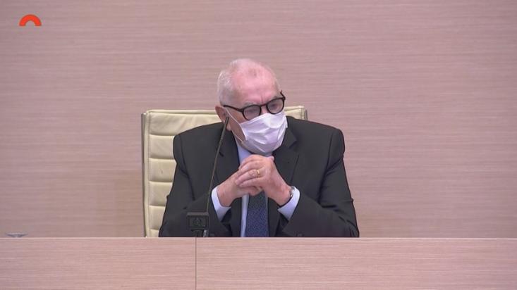 Ernest Maragall a l'auditori del Parlament | Canal Parlament