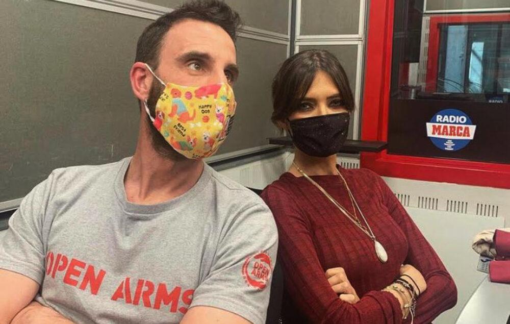 Dani Rovira i Sara Carbonero, en una entrevista a Radio Marca - Instagram