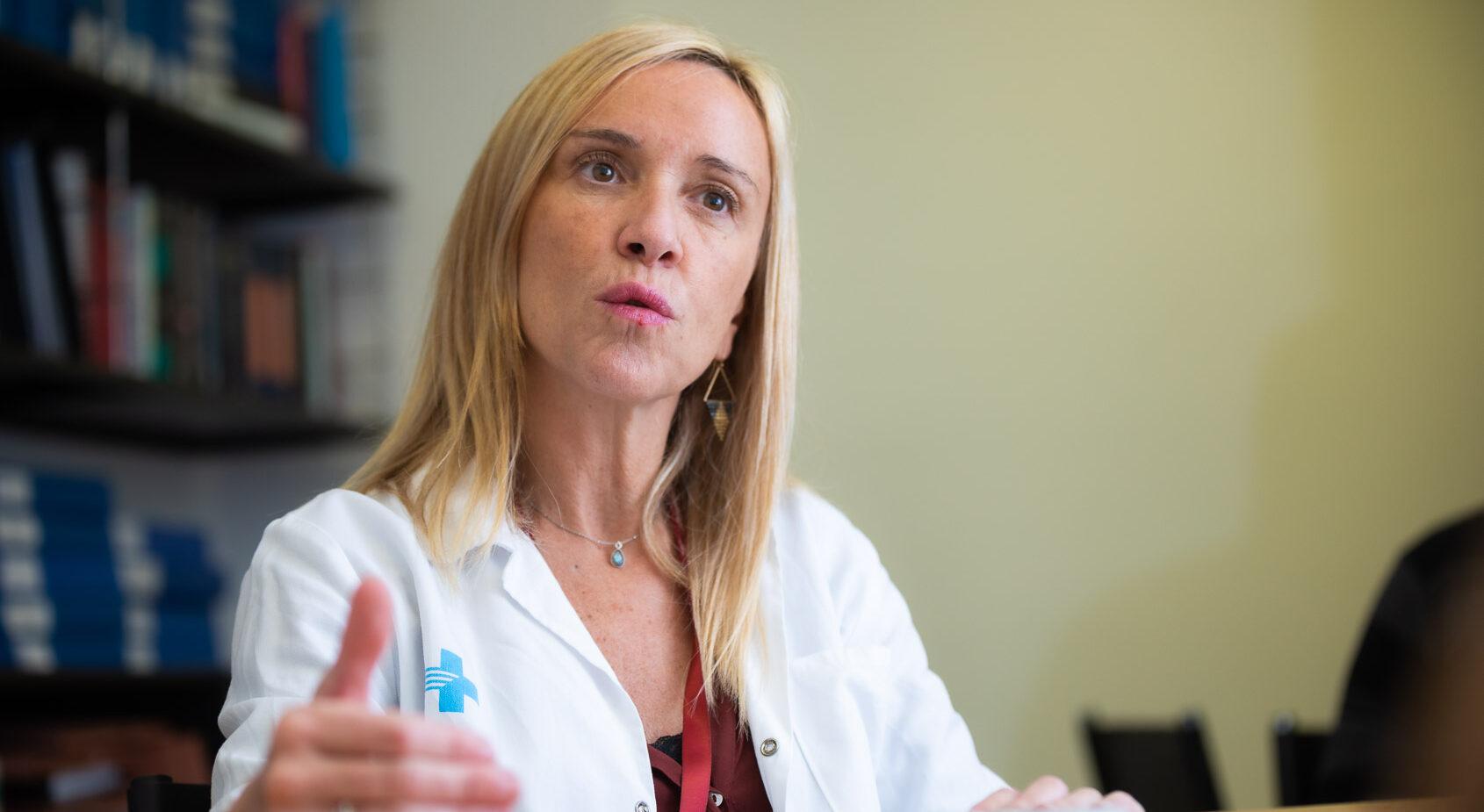 Carlota Gudiol, metgessa adjunta del Servei de Malalties Infeccioses de l'Hospital de Bellvitge / Jordi Borràs