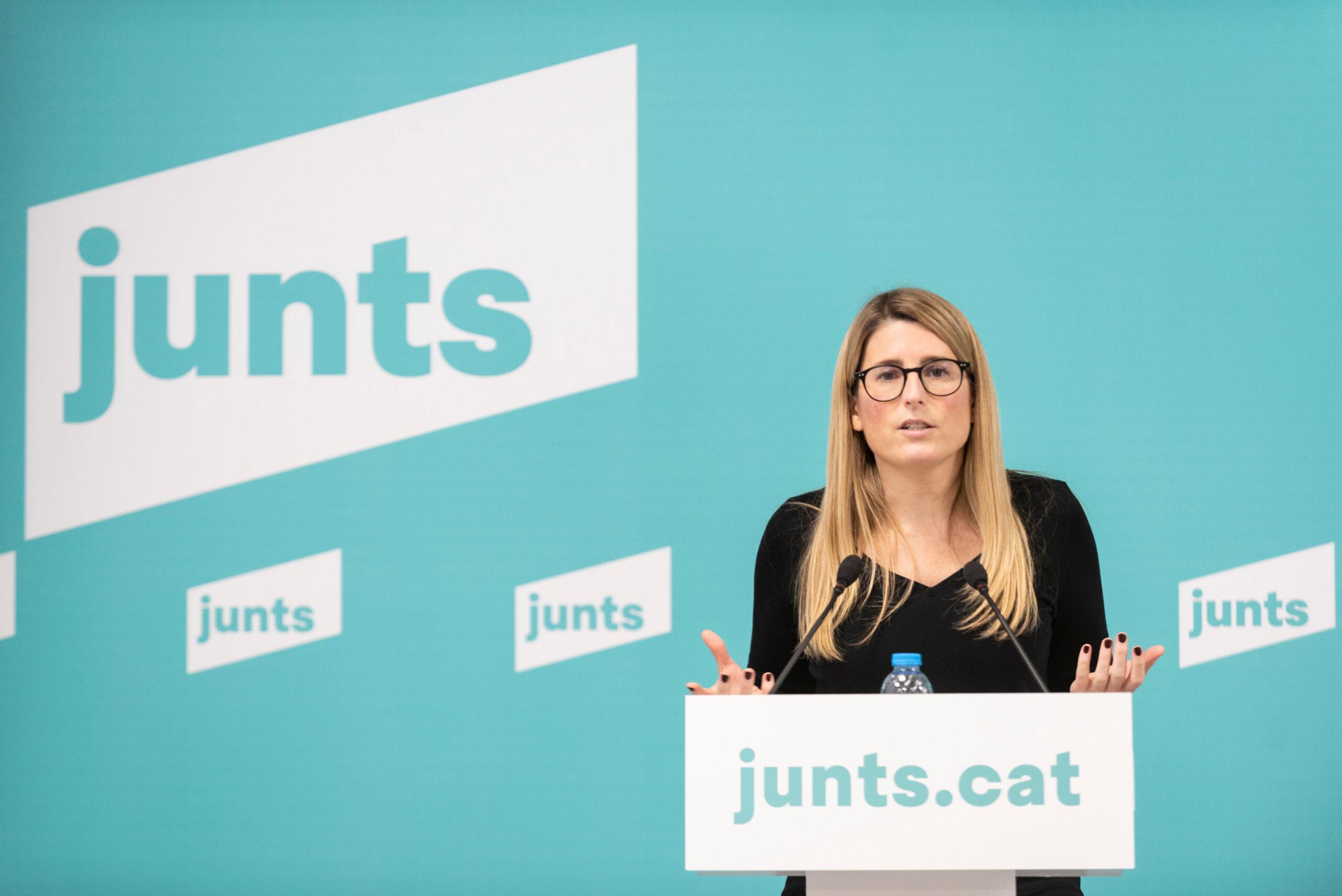 La vicepresidenta de JxCat, Elsa Artadi | ACN