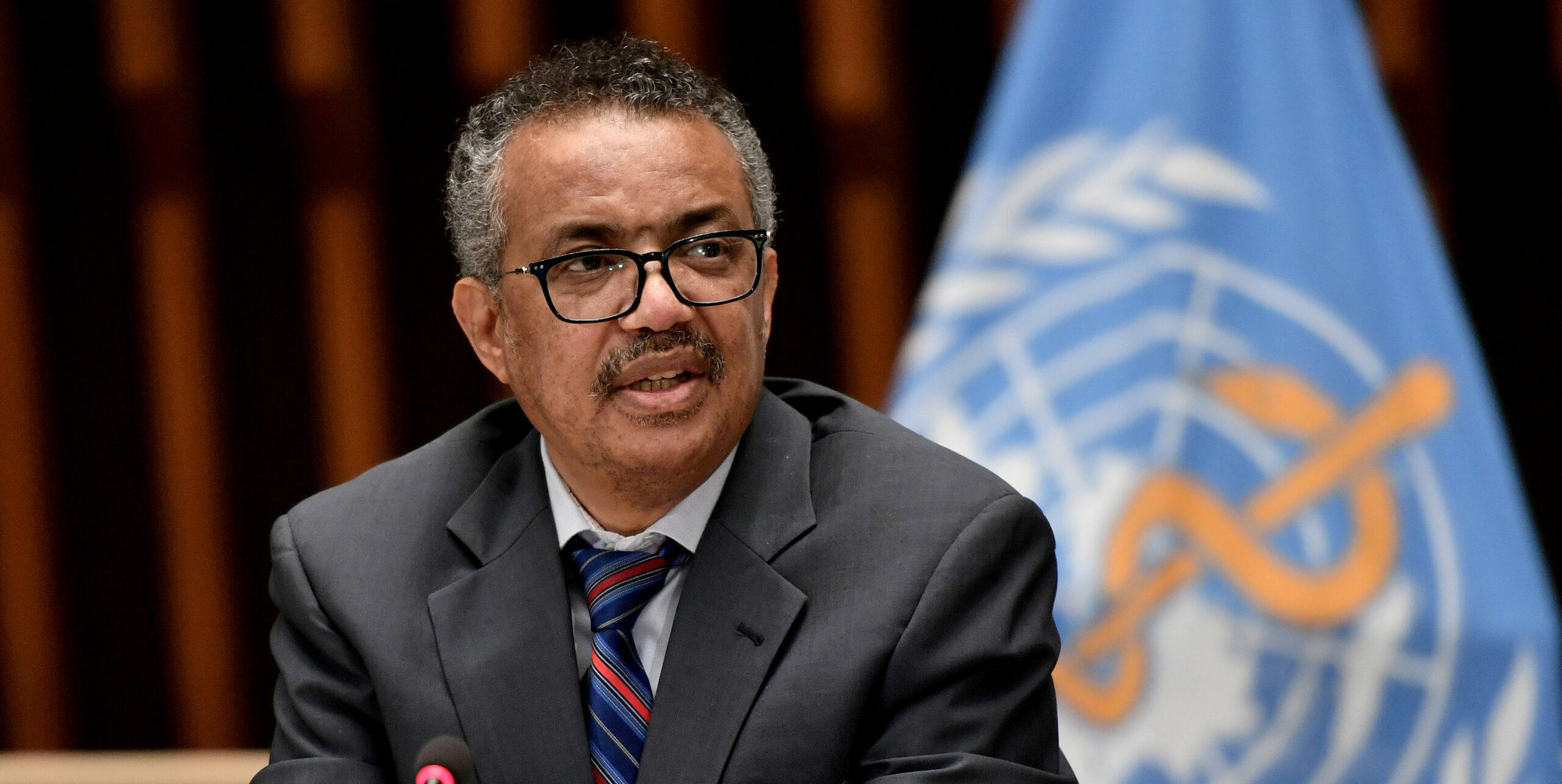 El director general de l'Organització Mundial de la Salut (OMS), Tedros Adhanom Ghebreyesus | ACN