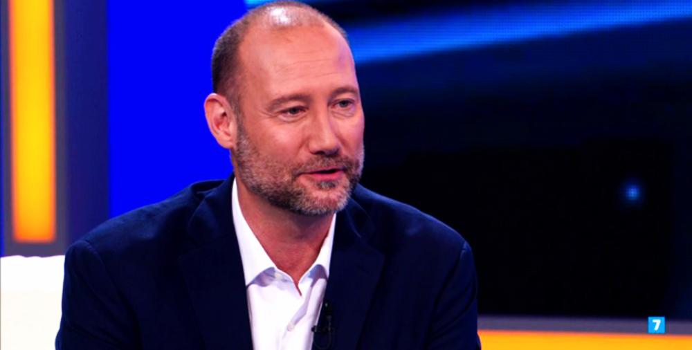 Pedro García Aguado concedeix una entrevista a Antena 3