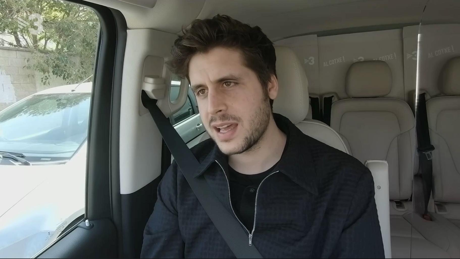 Roger Escapa, entrevistat a 'Al Cotxe'! - TV3